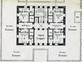 Kashmir House plan first floor