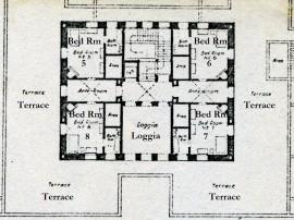 Kashmir House plan first floor