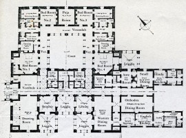 Kashmir House plan ground floor