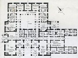 Kashmir House plan ground floor