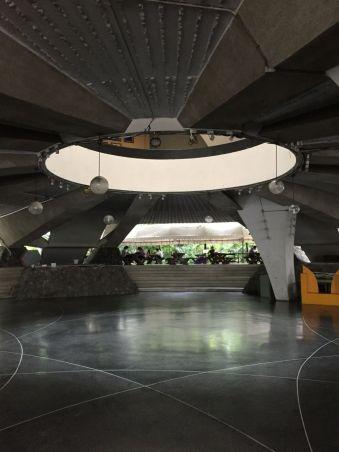 Mahidol University Lecture Hall hollow interior
