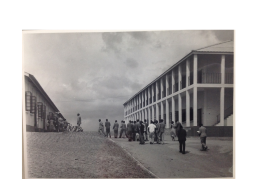 Takoradi Technical Institute, photographed in 1950s