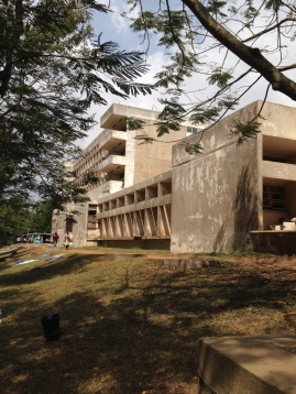 Effia Nkwanta brutalist extension