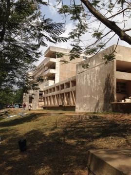 Effia Nkwanta brutalist extension