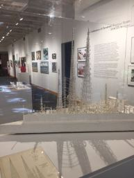 Model of Watts Towers from the Spaces Archive