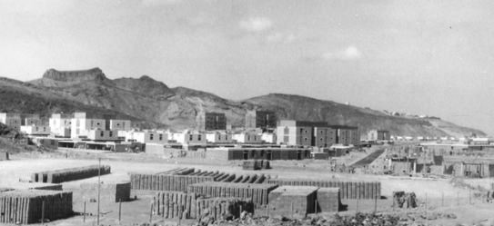 Construction at Little Aden, 1960-1965