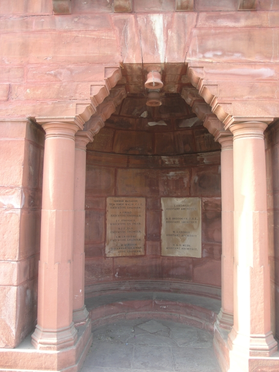 Herbert Baker: corbelled arch in New Delhi
